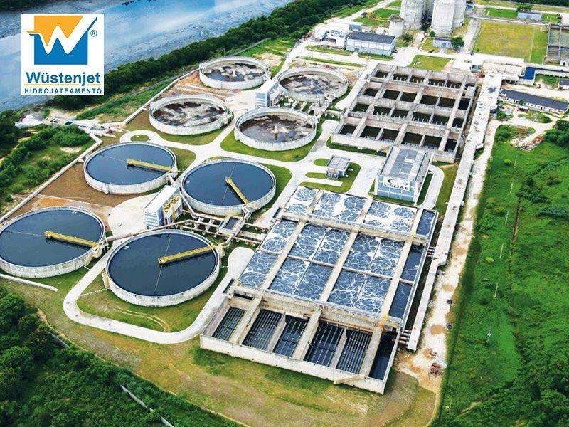 Sistema de sucção de pó industrial