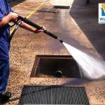 Serviços de hidrojateamento de alta pressão