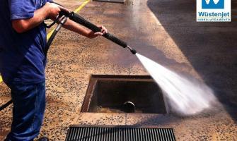 Hidrojateamento em usinas